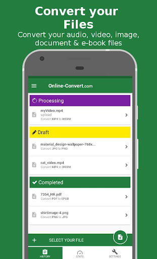 File Converter - By Online-Convert.com 1.0.16 gameplay | AndroidFC 1