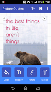 Picture Quote screenshot