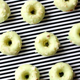 Pistachio Almond Mini Donuts
