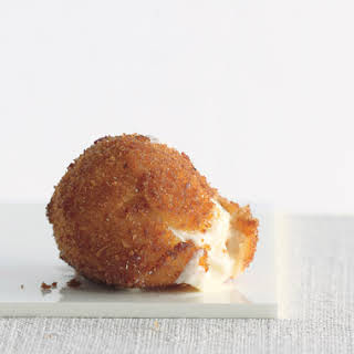 Fried Mozzarella Balls.