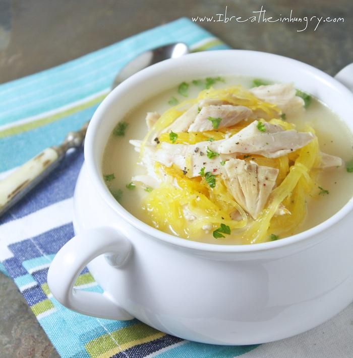 Low Carb Avgolemeno (Greek Chicken, Lemon & Egg Soup)