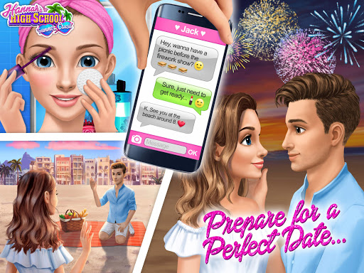 Hannah's High School Summer Crush - Teen Date 1.0.149 screenshots 21