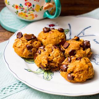 Nutty Pumpkin Chip Cookies