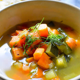 Bone Broth Vegetable Soup.