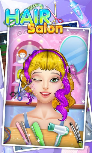 Hair Salon - Fun Games screenshot 1