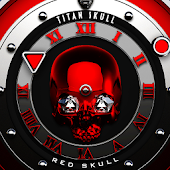Red Skull Watch Face