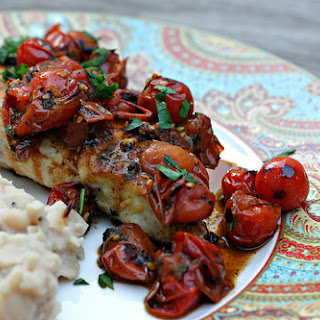 Chicken with Tomato-Herb Pan Sauce