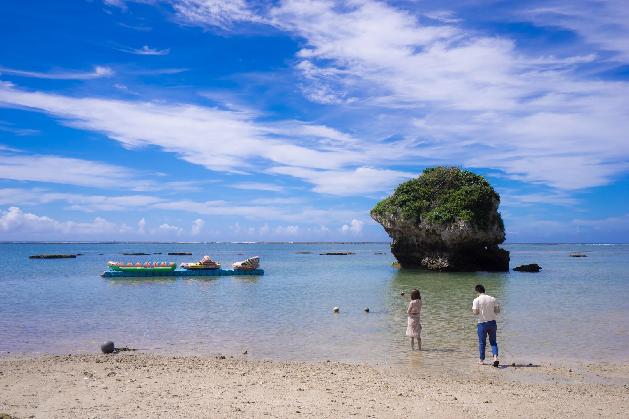 Okinawa Mibaru Beach1