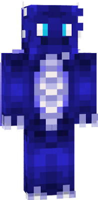 Original blue dragon :D, created for: writenowrong