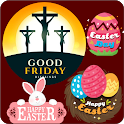 Good Friday Stickers Happy Easter All Festivals icon