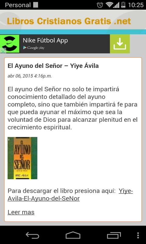 Libros Cristianos Gratis- screenshot