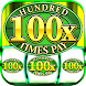 Slot Machine : Free Triple Hundred Times Pay Slots