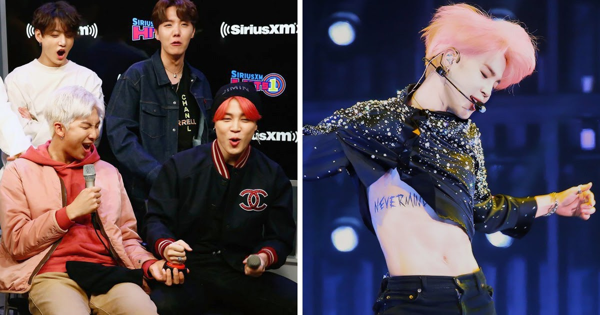 Bts Just Rekindled Army S Debate About Jimin S Nevermind Tattoo Koreaboo