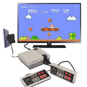 Consola de jocuri Retro pe televizor