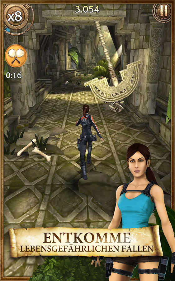 Lara Croft: Relic Run – Screenshot
