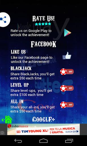 BlackJack 21 Free 1.0.7 Mod screenshots 5