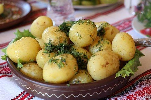 Ukraine, Potatoes, Dill, Vegetable, Food