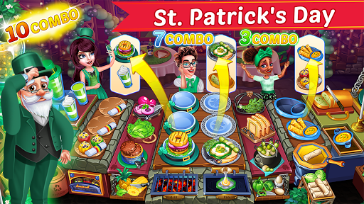 Cooking Party: Restaurant Craze Chef Fever Games apkpoly screenshots 2