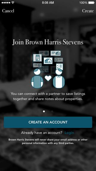 BHS - Brown Harris Stevens- screenshot