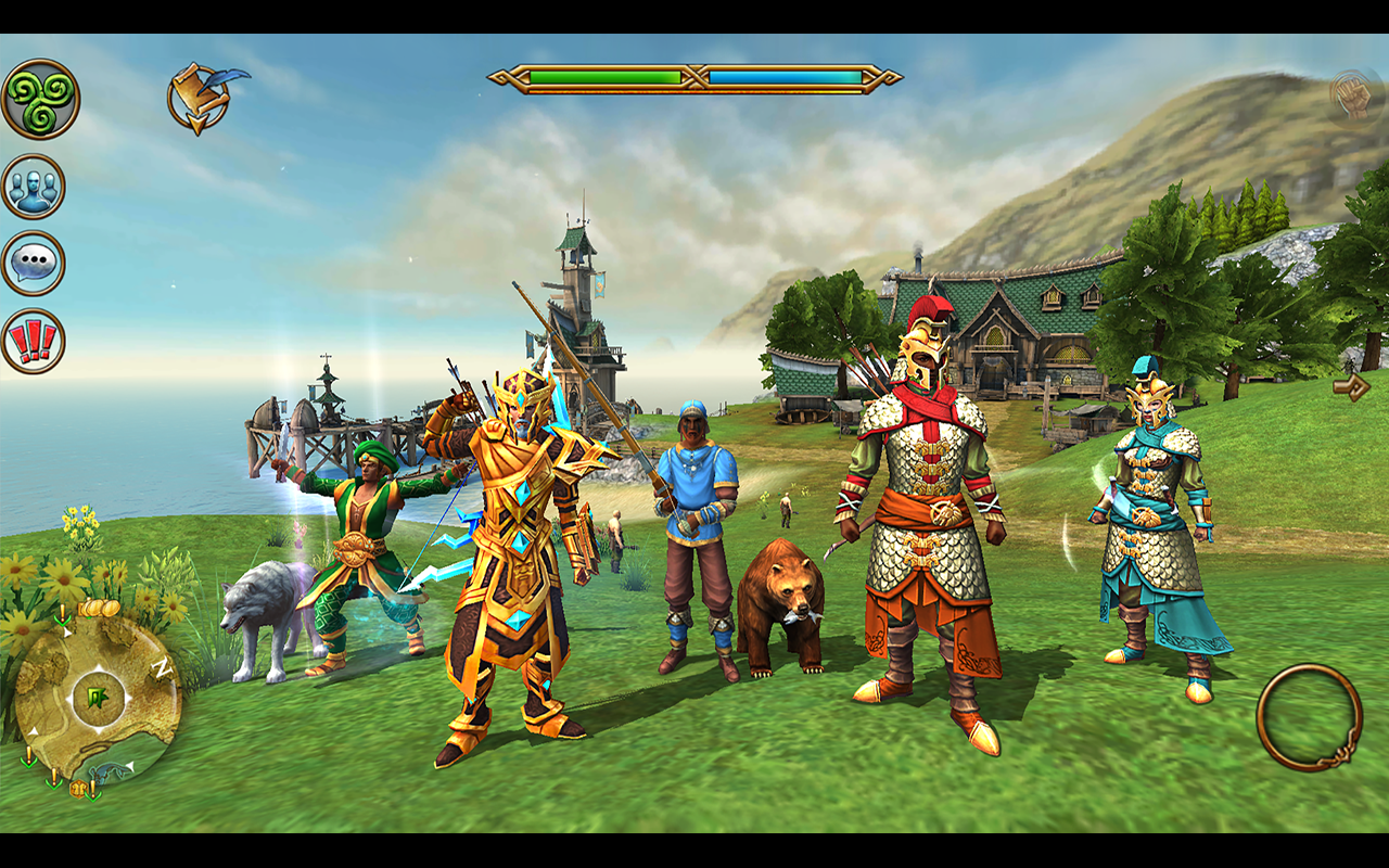3D MMO Celtic Heroes- screenshot