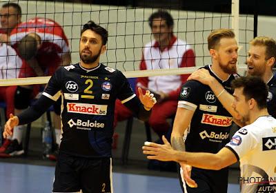Volleybal: zeges in play-offs voor Roeselare en Maaseik