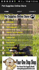 Pet Supplies Shop & Coupons screenshot 0