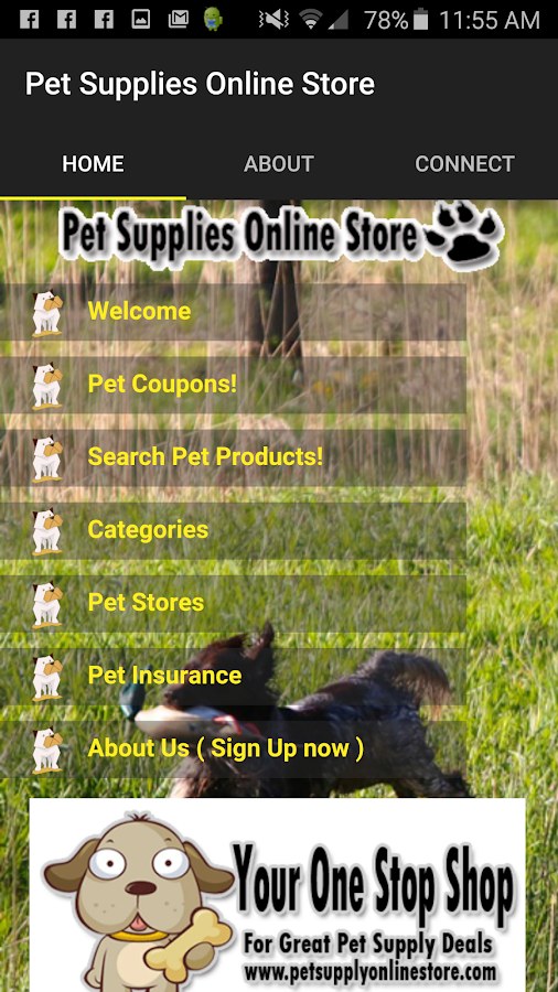 Pet Supplies Shop & Coupons- screenshot