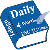 Daily Words English to Telugu