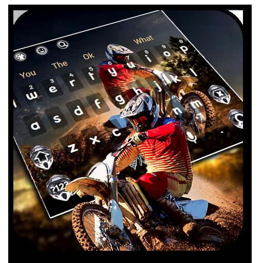 Motocross Racing Bike Keyboard