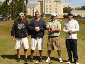 Photo: Sponsor: W. K. Whichard, Jr.  (Team members not in order)  Chad Cornelius, Kevin Johnson, Michael Sauls, Matthew Frost