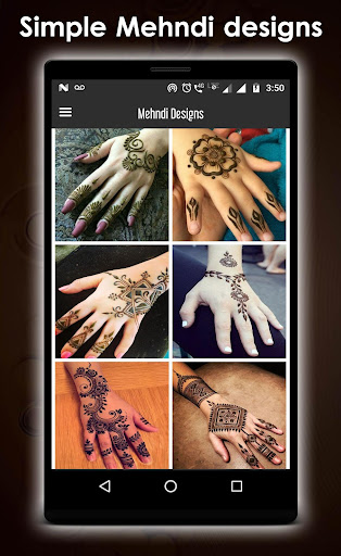 Simple mehndi design new 1.3 screenshots 8