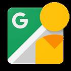 Google 街景 icon
