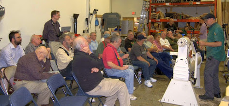 Photo: A good crowd came out to see our Demonstrator for the evening, Michael Mocho.