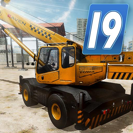 Heavy Crane Simulator 2019 - Construction Sim