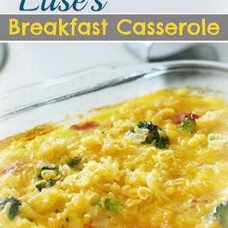 Elise's Breakfast Casserole