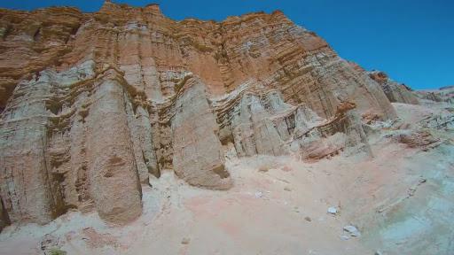 Red Rock Cliffs 4K FPV 🔥