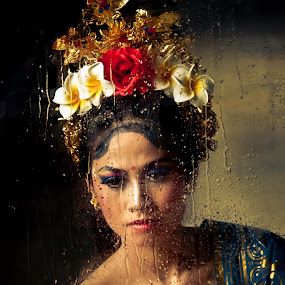 Balinese Dancer by Joni Irwanto - People Portraits of Women ( bali, indonesia, art, tourism, women, culture, dancer, portrait )