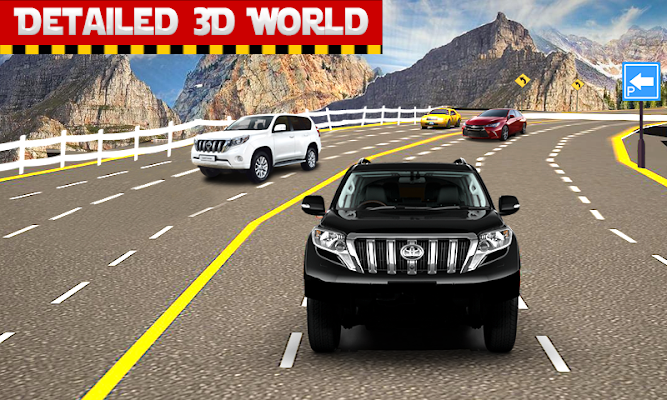 Offroad Prado Jeep Parking - screenshot