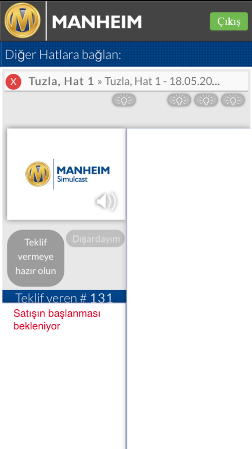 Manheim Simulcast Türkiye- screenshot