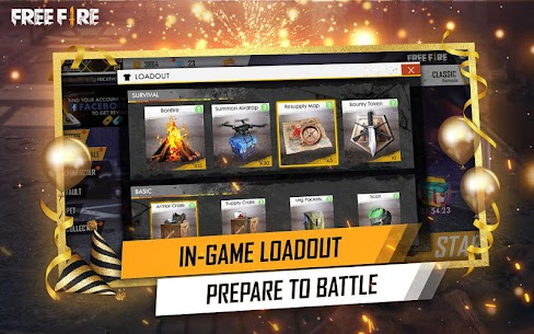 Garena Free Fire Mod Apk v1.39.0 (Unlimited Diamonds And Coins) 4