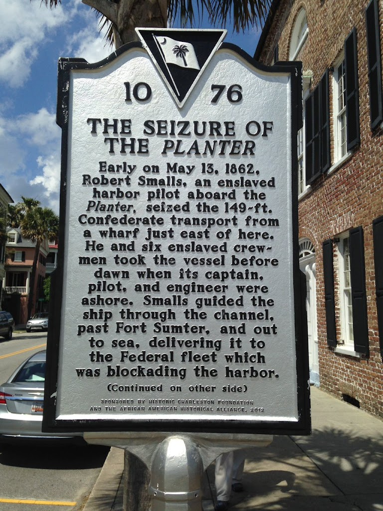 Read the Plaque - The Seizure of The Planter