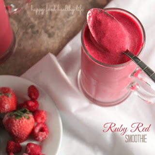 Ruby Red Smoothie.