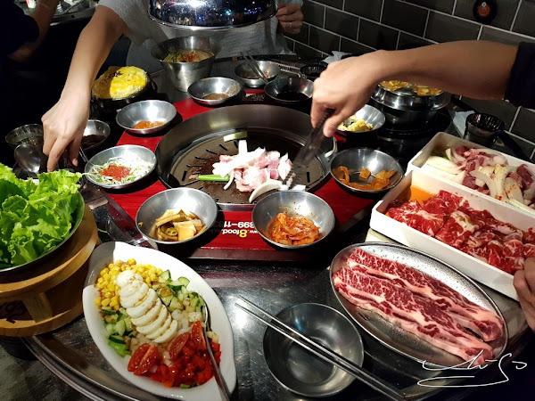 8292烤肉 팔이구이  快來烤肉!台北東區韓式烤肉推薦!超好吃牛肋條/豬五花/豬梅花等你來!