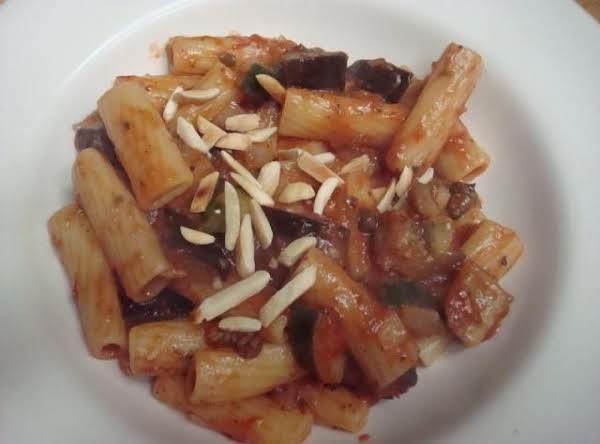 Rigatoni And Caponata Recipe