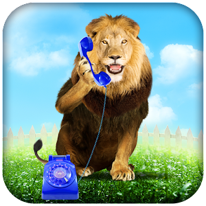 Lion Phone Calls Icon