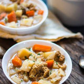Slow Cooker Irish Stew.
