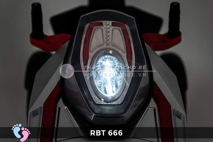 Xe mô tô điện trẻ em 3 bánh RBT-666 13