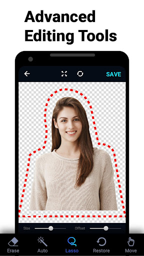 Background Eraser - bg remover and photo editor 1.14.0 screenshots 2