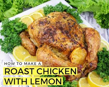 How to Make a Roast Chicken With Lemon