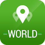 World Travel Guide App & Maps Icon
